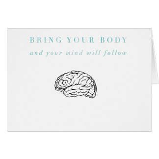 Mind Body Fellowship AA Meeting Recovery Card