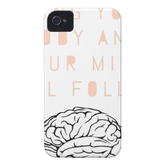 Mind Body Fellowship AA Meeting Recovery iPhone 4 Case-Mate Case