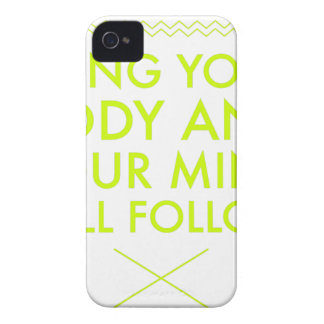 Mind Body Fellowship AA Meeting Recovery iPhone 4 Cases