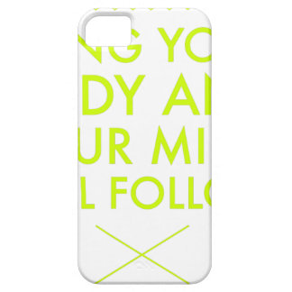Mind Body Fellowship AA Meeting Recovery iPhone 5 Case