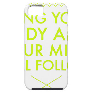 Mind Body Fellowship AA Meeting Recovery iPhone 5 Cover