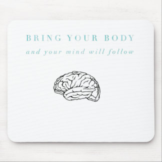 Mind Body Fellowship AA Meeting Recovery Mouse Pad