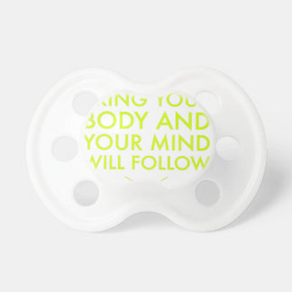 Mind Body Fellowship AA Meeting Recovery Pacifier