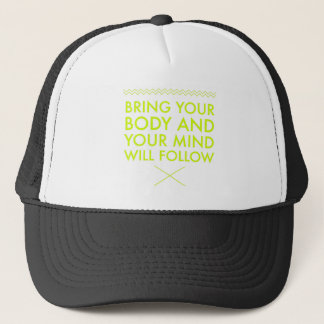 Mind Body Fellowship AA Meeting Recovery Trucker Hat