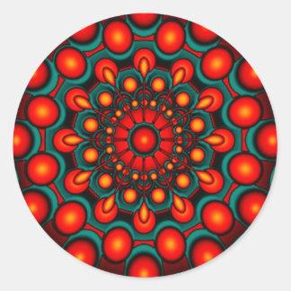mind gazer classic round sticker