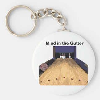 Mind in the Gutter Keychain