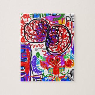 Mind  Matters Graffiti Jigsaw Puzzle
