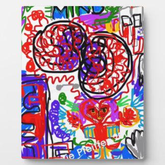 Mind  Matters Graffiti Plaque
