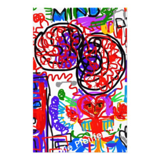 Mind  Matters Graffiti Stationery