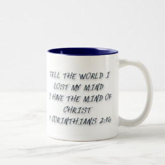 Mind of Christ Series Two-Tone Coffee Mug