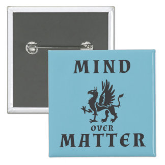 Mind Over Matter 2 Inch Square Button