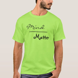 Mind over Matter Gym Fitness Plus Size Workout T-Shirt
