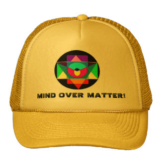 MIND OVER MATTER! TRUCKER HAT