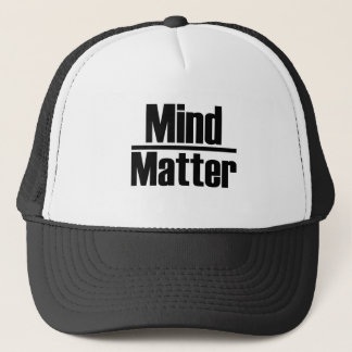 mind over matter trucker hat