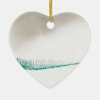 Mind Sailing Ceramic Heart Ornament