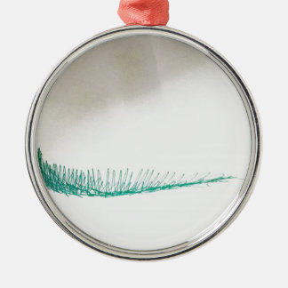 Mind Sailing Silver-Colored Round Ornament