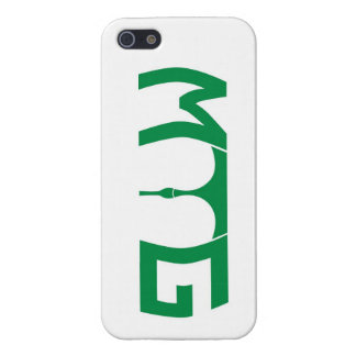 Mind the gap - green text Iphone 5/5s case