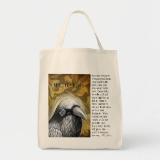 Mind the Raven Tote Bag
