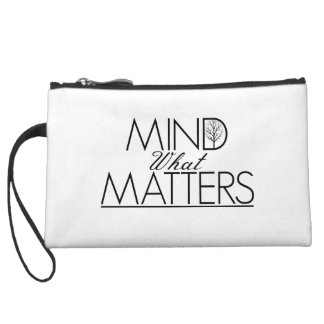Mind What Matters - Clutch Wristlet