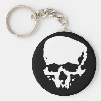 Mind Wither Day signature skull Keychain