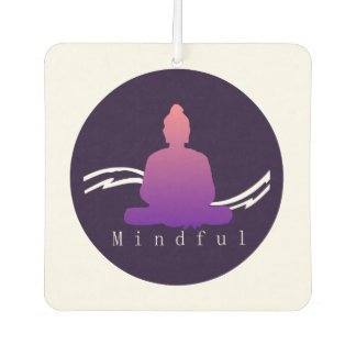 """Mindful"" Beautiful Buddha. Air Freshener"