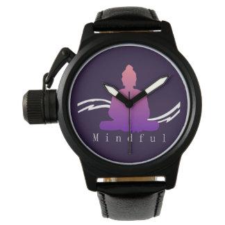 """""""Mindful"""" Beautiful Buddha. Watch"""