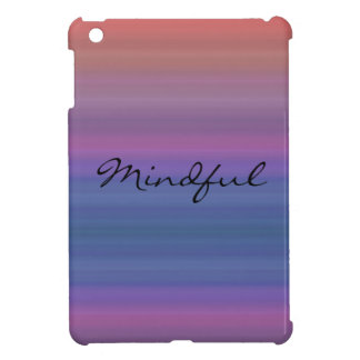 Mindful - Choose your own WORD for the year! iPad Mini Covers