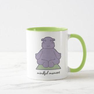 Mindful Moment Hippo Ringer Mug
