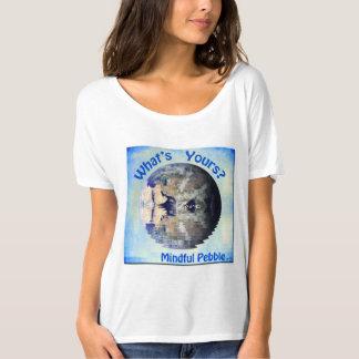 Mindful Pebble Planet Earth T-Shirt - Pebble=Love