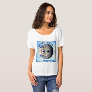 Mindful Pebble Planet Earth T-Shirt White