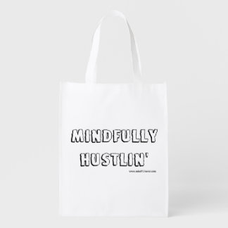 Mindful Rover - Mindfully Hustlin' Reusable Bag Reusable Grocery Bags