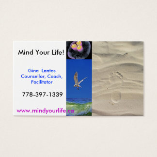 MIndfulness Business Card