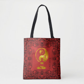 Mindfulness Gift YOGA Meditation Personalized Tote