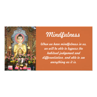 Mindfulness Photo Card