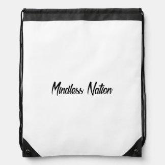 Mindless Nation Original Drawstring Bag