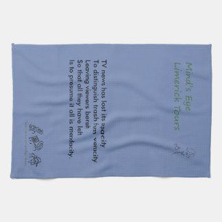 Mind's Eye Limerick Tours Tea Towel