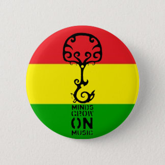 Minds Grow on Music 2 Inch Round Button
