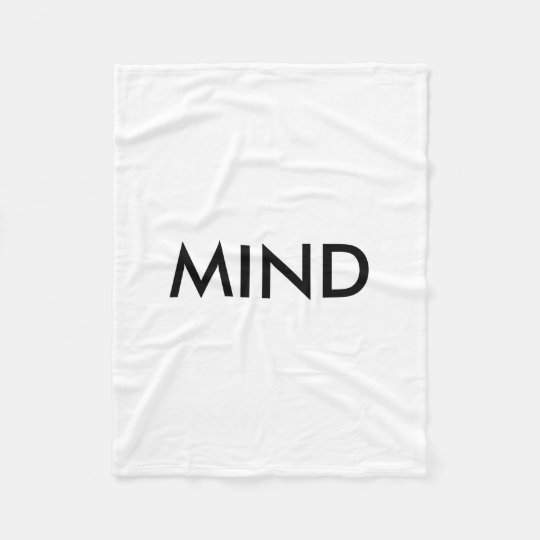 MINDset! All About You! Fleece Blanket