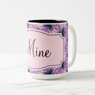 Mine, add your own text, 15oz. Coffee mug