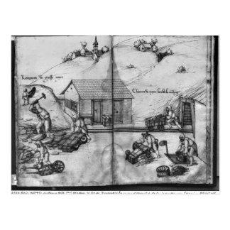 Mine argentée des Croix-aux.-Mines de La Carte Postale