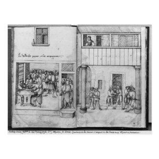 Mine argentée des Croix-aux.-Mines de La, Lorraine Carte Postale