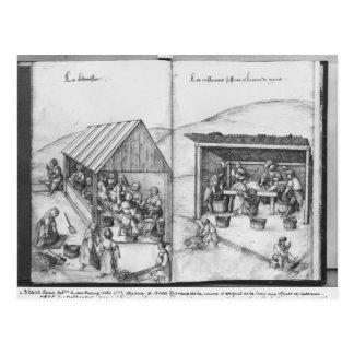 Mine argentée des Croix-aux.-Mines de La, Lorraine Cartes Postales
