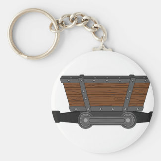 Mine Cart Keychain