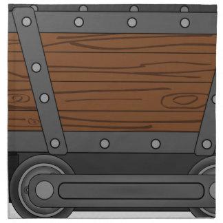 Mine Cart Napkin