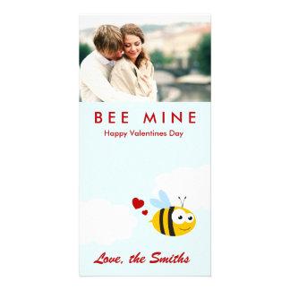 Mine d'abeille cartes avec photo
