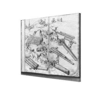 Mine de Siver des Croix-aux.-Mines de La, Lorraine Toiles Tendues Sur Châssis