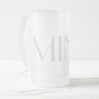 Mine frosted mug