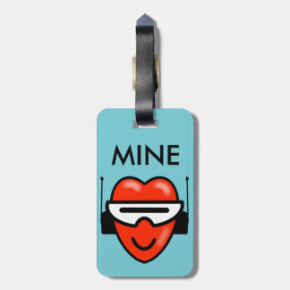 MINE HEART SPACE by Jetpackcorps Bag Tag