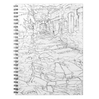 Mine interior notebook