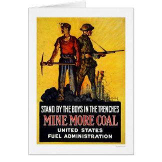 Mine more coal card
